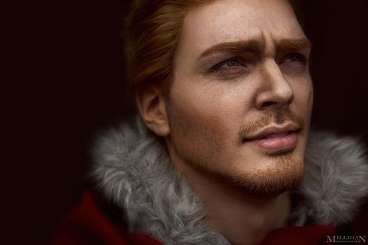 DA:I - Alistair make-up test by MilliganVick