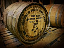 Whiskey Barrels by AndrewCarrell1969