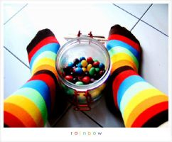 Chocolat Series One - Rainbow by thingummygirl