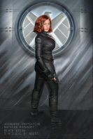 Agent Romanoff Reporting for Duty! by captainjaze