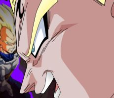 "majin vegeta ""good"" by zignoth"
