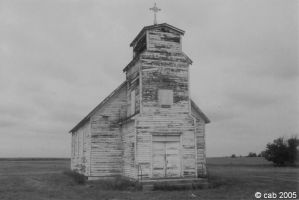 little church on the prairie by coronabolt
