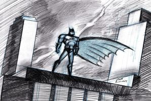 Batman Animated Series 7-24-2014 by myconius