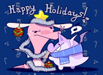 Holiday Card 2014 by grindzone