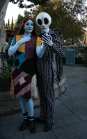 Jack and Sally 03 by DisneyLizzi