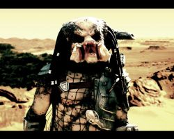predator face by predatorman