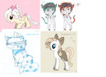 Characters adoptables #1 by Sexyninjax