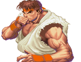 Ryu ready animated by ryuhadokenplz