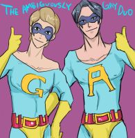 The Ambiguously Gay Duo by Bloodmilkk
