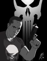 The Punisher by MarkHRoberts