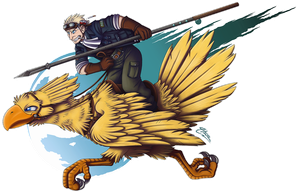 'Chocobo Captain' by MacGreen