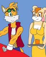 Adult Tails and Cream by SuperSaiyanCrash