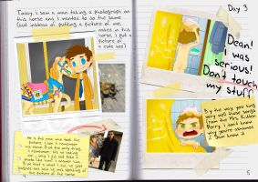 Castiel's Diary, Let it be ... naked by M0nzteer