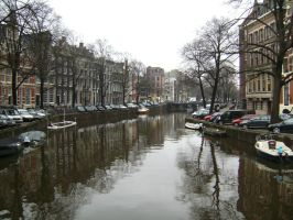 Amsterdam canals by Snowflaky