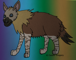 Brown Hyena Yeni by The-Smile-Giver