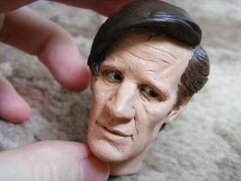Matt Smith Sculpt 6 by frasierdalek