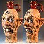 Three Eyed Sideshow Freak Jug by thebigduluth