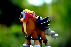 Entei the beast of fire by latiaslatios