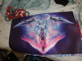 CLEAR MIND playmat sample by slifertheskydragon
