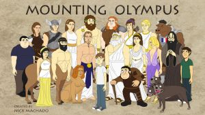 Mounting Olympus characters by nickmac31
