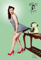 S.P. Pinup 4 by AbstractedRealism