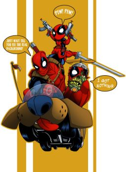 Deadpool preview by MattFranklin