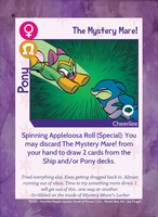 TSSSF Pony Card - The Mystery Mare! 1.0.6 by MLP-NovelIdea