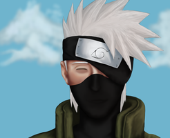 Kakashi Painting by CindyRex