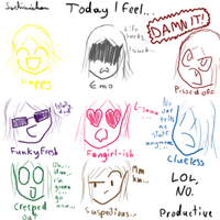 Today I feel... by SachimiChan