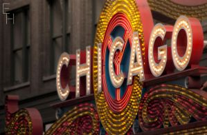 Chicago Theatre Lights by BonaFideChimp