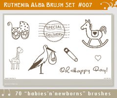 Brushset 07: Babies by Ruthenia-Alba