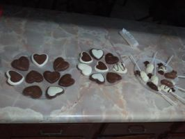 I Made Chocolate For my friends ^^ by Charlotte1315