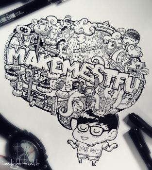 Doodle: Make Me STFU by LeiMelendres