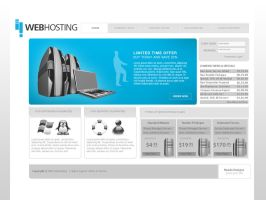 Web hosting Layout by neadodesigns
