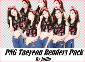 PNG Taeyeon Renders By Jullia by ngangiang38