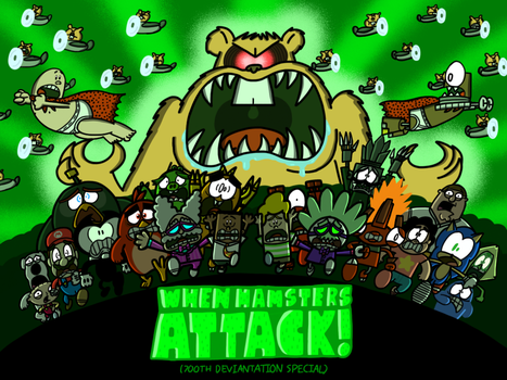 WHEN HAMSTERS ATTACK! (700th Deviantation Special) by AngryBirdsandMixels1