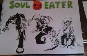 Soul Eater Madness by DeadGotashi