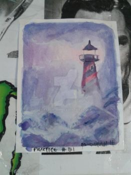 Lighthouse #2 by FaDemian