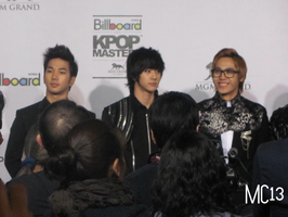 MBLAQ on the red carpet, KPOP MASTERS by Makenshichrona13