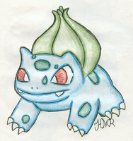 Bulbasaur by Shabou