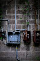 Second Shot of the Decaying Boxes by PAlisauskas