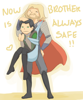 Thor's Solution by jacyndaquil