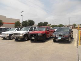 Typical Texas Parking Lot by TR0LLHAMMEREN