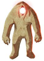 Mud Clay Golem colored by Message-Err