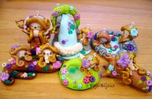 Nymphs' world by Bojo-Bijoux