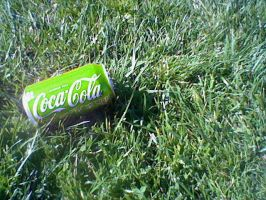 Coke going Green by Rosalinaisrosie