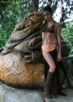 Leia andJabba - 32 by Darthsandr