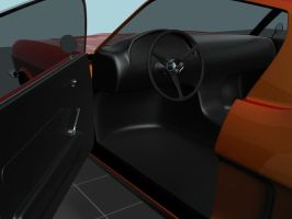 Ford Mustang Door Inner by prox3h