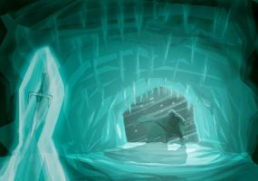 ice cave by sagedono