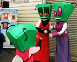 Manifest 2011 - Invader Zim group by fulldancer-alchemist
